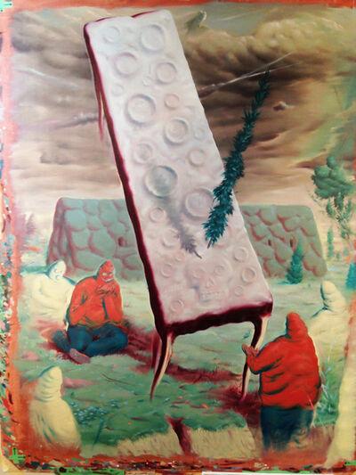 Ryan Heshka, 'The Commune Table', 2017