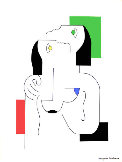 Hildegarde Handsaeme, 'Tendresse en couleurs', 2018