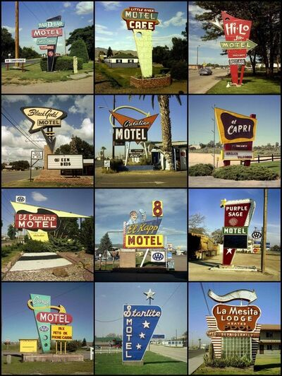 Steve Fitch, 'Motel Signs, 1979 to 2005'