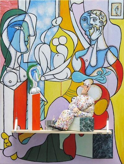 Stephen Hansen, 'The Sculptor: Picasso'