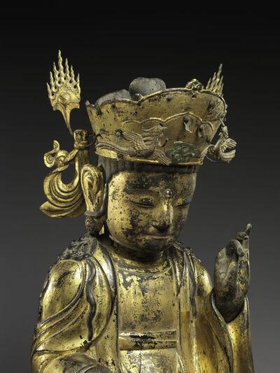 Unknown Artist, 'Seated bodhisattva (detail)', 1392-1910
