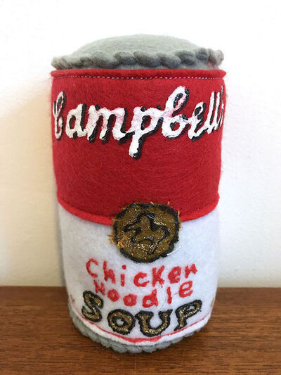 Lucy Sparrow, 'Campbell's Chicken Noodle Soup', 2014