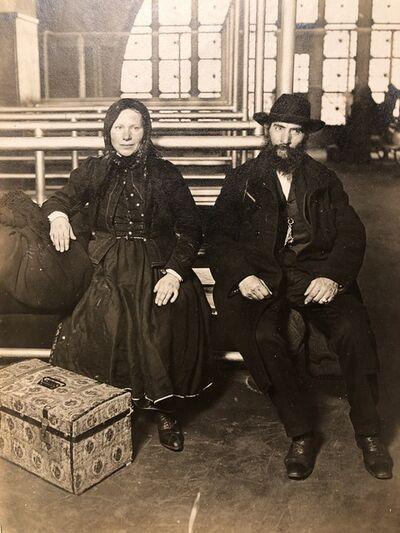 Lewis Wickes Hine, 'Immigrants, Ellis Island', ca. 1905