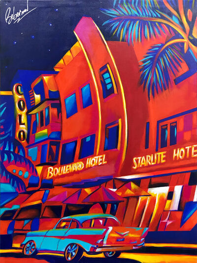 Ken Beberman, 'STARLITE (MIAMI BEACH)', 2019