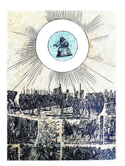 "Max Ernst, 'Original Lithograph ""Ballad of a Soldier IX"" by Max Ernst', 1972"