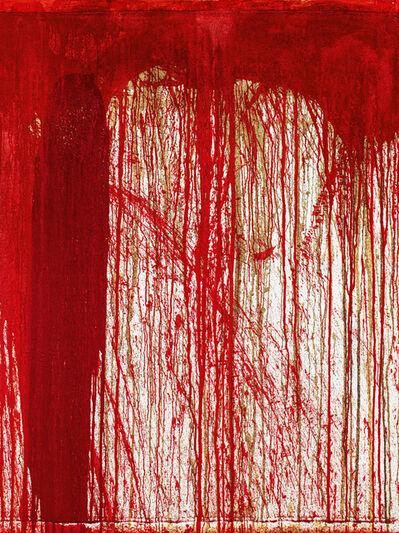 Hermann Nitsch, 'Schüttbild (Pour painting)', 1998