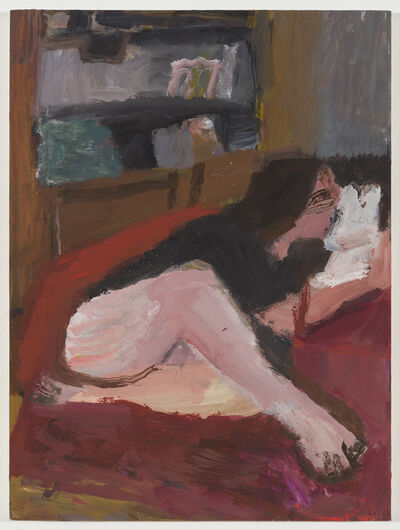 Janice Nowinski, 'Girl on a Red Chair', 2018