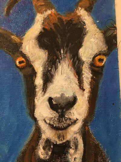 Huguette Martel, 'Goats', 2016-2018