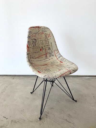 Jean-Michel Basquiat, 'Jean-Michel Basquiat Case Study® Side Shell Eiffel Chair - Jackson '