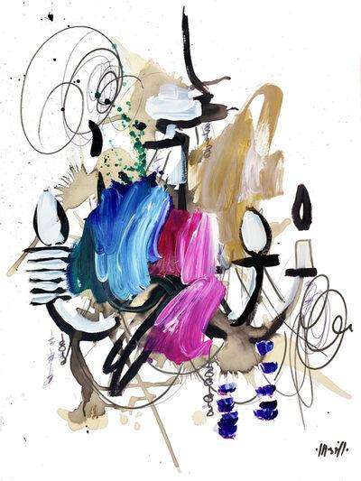 Ash Almonte, 'Jewel Tone Chandelier', 2020