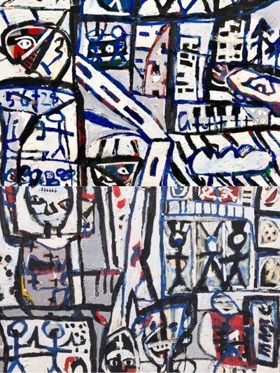 David Larwill, 'On the Street (Diptych)', 1984