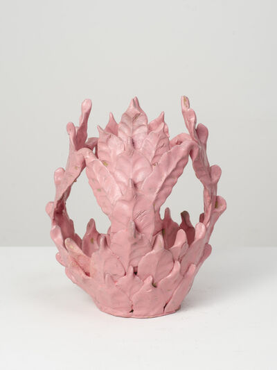 Eugene Von Bruenchenhein, 'Untitled (Matte pink vessel)', n.d.