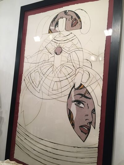 Manolo Valdés, ' Queen Mariana Tribute to Litchenstein 1/10 PA', 20th Century