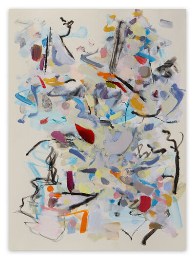 Gina Werfel, 'Woods (Abstract Expressionism painting)', 2021