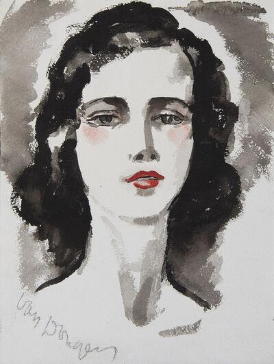 Kees van Dongen, 'Portrait de jeune femme', Unknown
