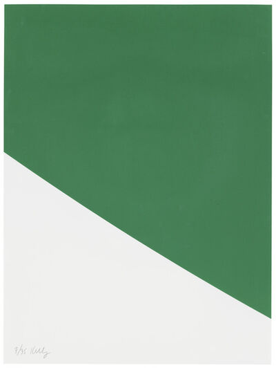 Ellsworth Kelly, 'Green Curve, from Third Curve Series', 1999