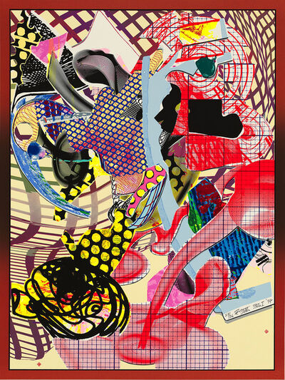 Frank Stella, 'Coxuria, State I, from the Imaginary Places II Series', 1997