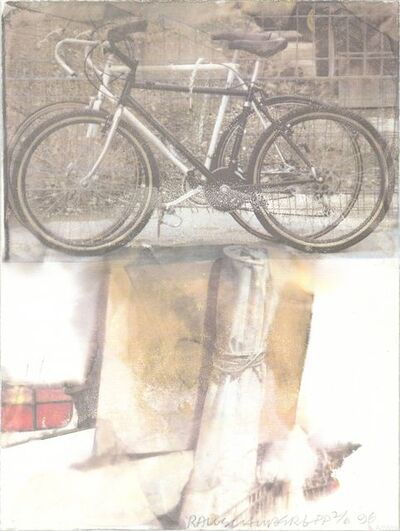 Robert Rauschenberg, 'Bicycle', 1996