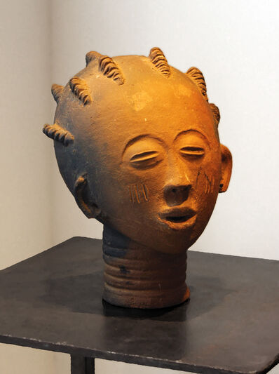 Unknown African, 'Akan Funerary Head', Early 20th Century