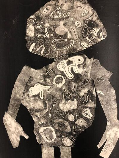 Jean Dubuffet, 'Personnage 1955 II', 1956