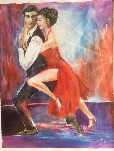 Dr.Székely Aranka, 'TANGO DANCERS', 2020