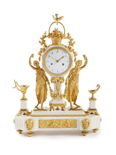Clock, 'A French Louis Seize Ormolu Pendule', 1790