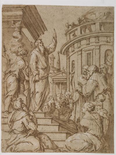 Giorgio Vasari, 'Saint Paul Preaching in Athens', ca. 1550