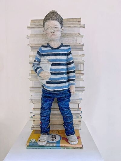 Li Hongbo 李洪波, 'Textbooks – Boy《教科書系列 - 男孩》 ', 2019