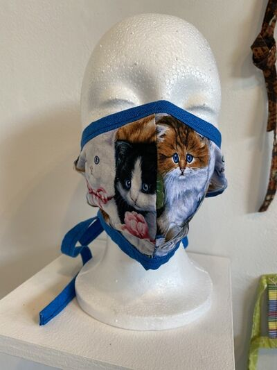 Ayrton & Bailey Chapman, 'Mask (Cats)', 2020