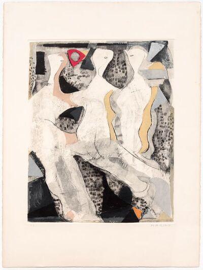 Marino Marini, 'Tre Grazie, from Munchen', 1976