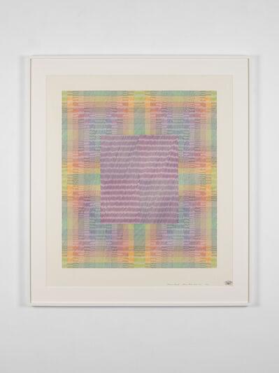 Channa Horwitz, 'Canon Eleven Moiré Four', 1984