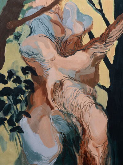 Marina Roca Die, 'The Fear of Falling in Love with a Tree II', 2018