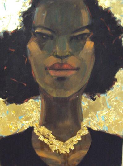 Robert Freeman, 'Golden Necklace II'