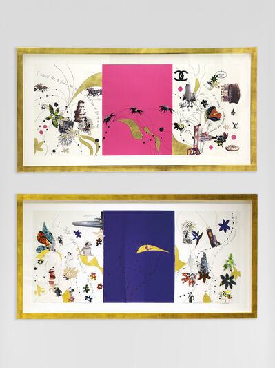 Yinka Shonibare CBE, 'Dreaming Rich Drawing 2, Dreaming Rich Drawing 5', 2013