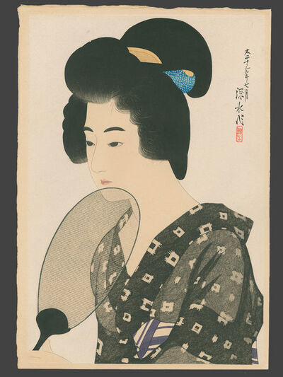 Itō Shinsui, 'Hair Style of a Married Woman', 1924