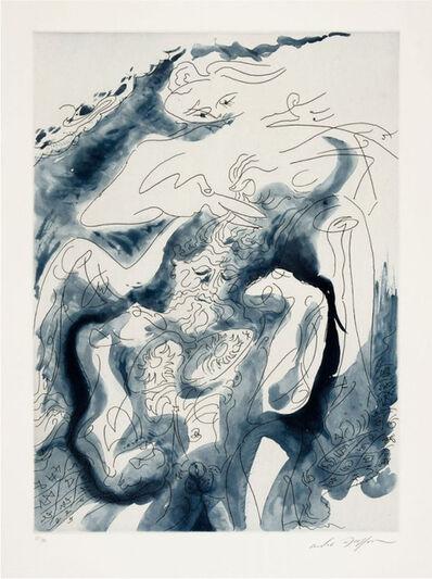 """André Masson, ' Samson et Dalila des """"Amants Célèbres""""', 1979"""
