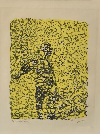 "Mark Tobey, '""Summer reflections""', 1967"