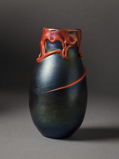 Charles Lotton, 'Red Lava Vase', 1973