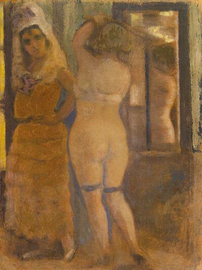 Carlo Corsi, 'Due figure', ca. 1935