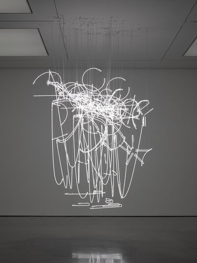 Cerith Wyn  Evans, 'Neon Forms (after Noh I)', 2015