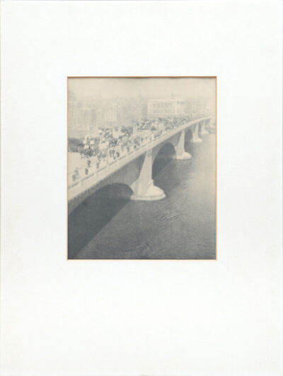 Alvin Langdon Coburn, 'London Bridge', 1909