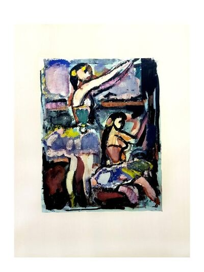 "Georges Rouault, 'Lithograph ""Dancers"" after Georges Rouault', 1943"