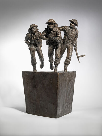David Williams-Ellis, 'The D-Day Sculpture Maquette', 2019