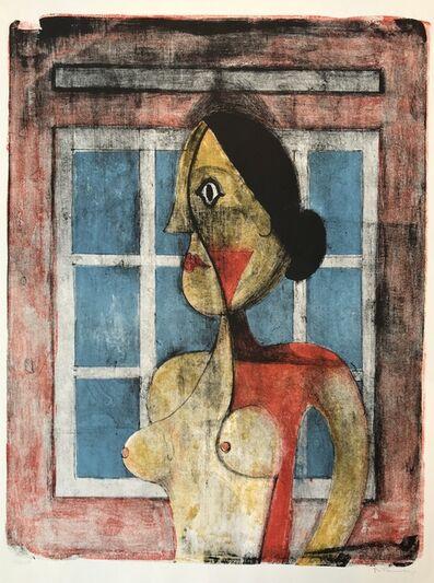 Rufino Tamayo, 'Retrato de Mujer  (Portrait de Femme - Woman's Portrait)', 1969