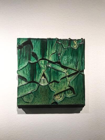 Sara Ouhaddou, 'Impression//Impression.Vert #1', 2017