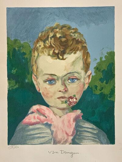 Kees van Dongen, 'Jean Marie à la Rose', 1950