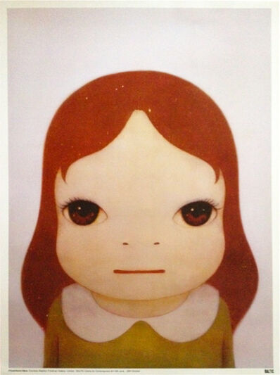 Yoshitomo Nara, 'Cosmic Girl (Eyes Open, Eyes Shut)(Two Works)', 2008
