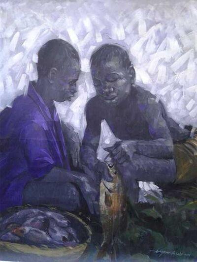 Ajibade Ewoyemi, 'Teamwork', 2018