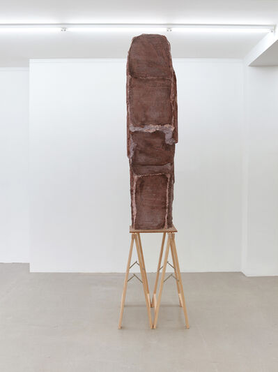 Esther Kläs, 'High (Brown)', 2017