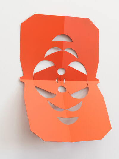 Matt Keegan, 'Cutout (Orange Blossom)', 2019
